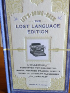 Lost Language Book