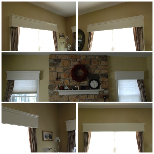 build wood valance plans