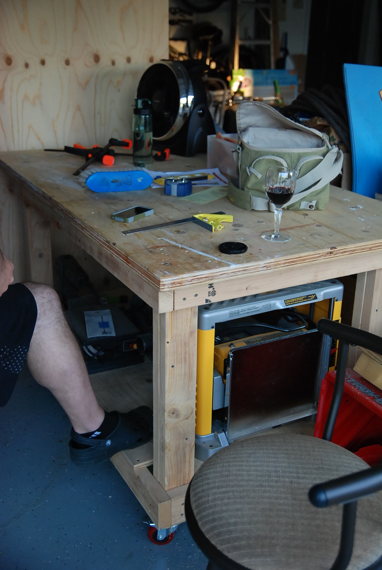 workbench plans art of manliness