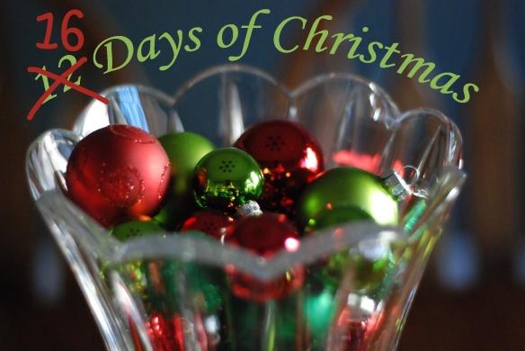 16 Days of Christmas