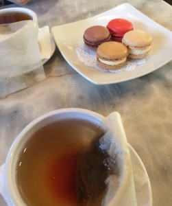 Tea and Macarons